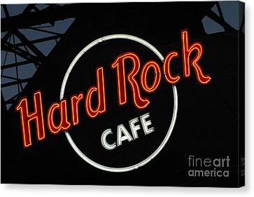 Hard Rock - St. Louis Canvas Print by Gary Gingrich Galleries