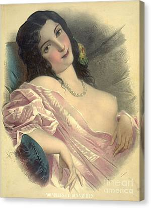 Harem Girl 1850 Canvas Print by Padre Art