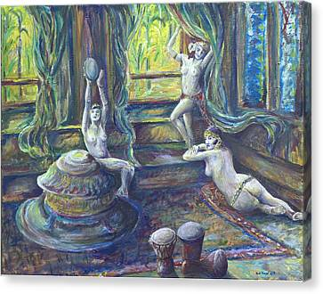 Harem Room Canvas Print by Nick Vogel