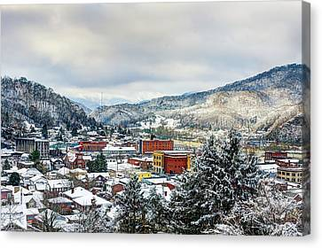 Harlan Ky Winter Canvas Print by Anthony Heflin