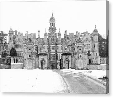 Harlaxton Manor Canvas Print