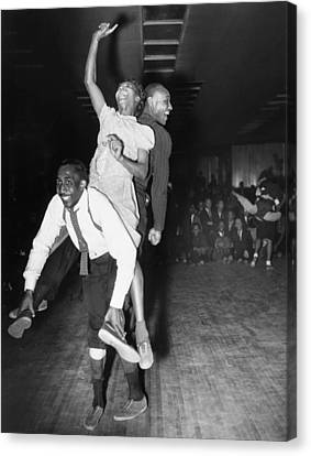 Harlem: Dancers, 1941 Canvas Print by Granger