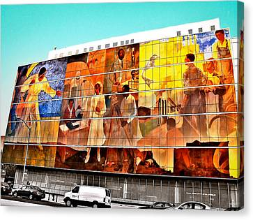 Harlem Hospital Mural Canvas Print