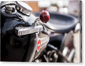 Harley Davidson Jockey Shift Canvas Print