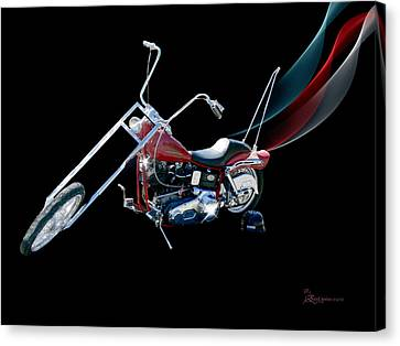 Harley Canvas Print by EricaMaxine  Price