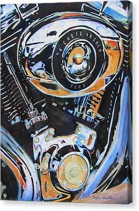 Harley Heaven Canvas Print