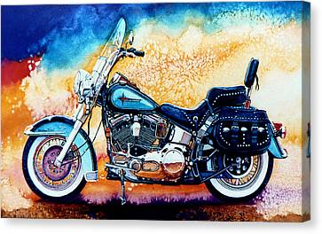 Harley Hog I Canvas Print by Hanne Lore Koehler