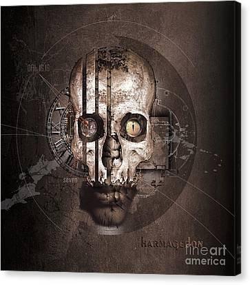 Harmagedon Canvas Print by Franziskus Pfleghart