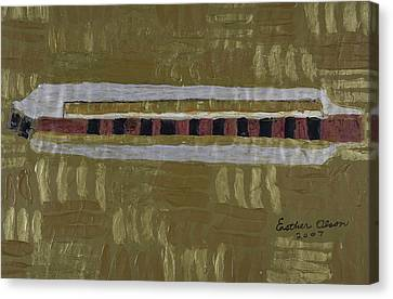 Harmonica Canvas Print by Esther Olson