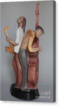 Harmonizing In D Canvas Print by Wayne Headley