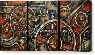 Harmony 7 Canvas Print by Michael Lang