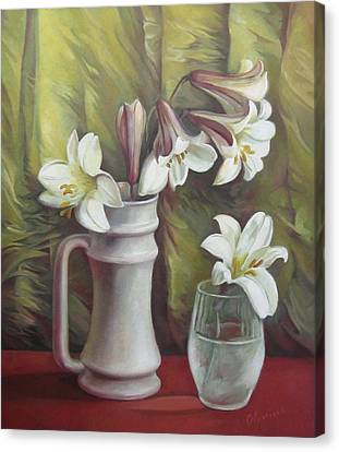 Harmony Canvas Print by Elena Oleniuc