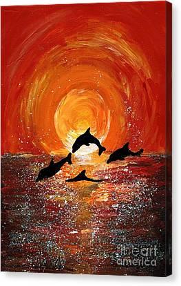 Harmony Canvas Print by Karen Jane Jones