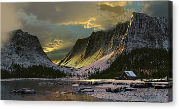 Harmony Of Light Canvas Print by Dieter Carlton