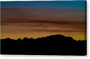 Harney Sunset Canvas Print