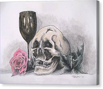 Harold And The Rose Canvas Print