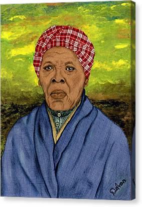 Harriet Canvas Print by Delvon