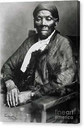 Abolitionist Canvas Print - Harriet Tubman  by American School