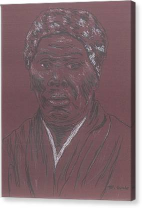 Harriet Tubman Canvas Print by Bob Gumbs