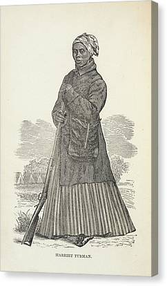 Harriet Tubman Canvas Print by British Library