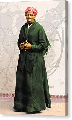 Harriet Tubman The Underground Railroad 20140210v2 Canvas Print