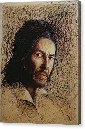 Harrison 1943-2002 Oil Pastel On Board Canvas Print