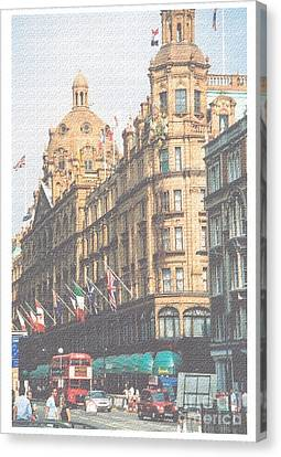 Canvas Print - Harrod's Of London by Nu Art