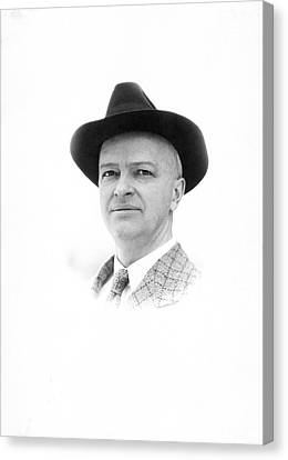 Harry Laughlin Canvas Print by American Philosophical Society