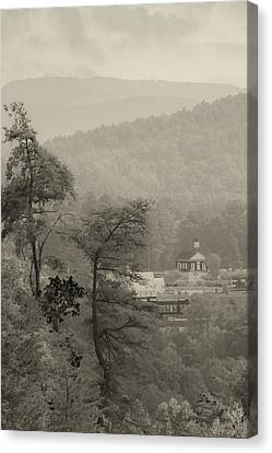 Canvas Print featuring the photograph Harshaw Chapel by Margaret Palmer