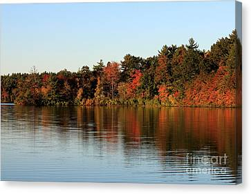 Hart Pond Golden Hour Canvas Print