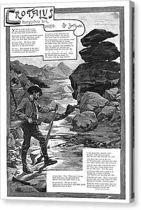 Harte Crotalus, 1887 Canvas Print by Granger