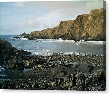 North Devon - Hartland Quay Canvas Print