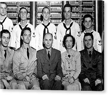 Harvard Mark 1 Computer Team Canvas Print by Us Air Force
