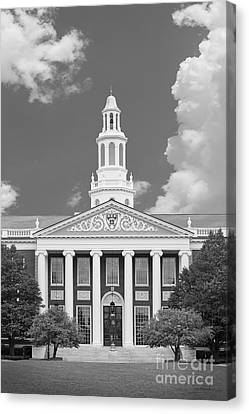 Baker Bloomberg At Harvard University Canvas Print by University Icons