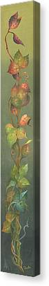 Canvas Print featuring the painting Harvest Grapevine by Doreta Y Boyd