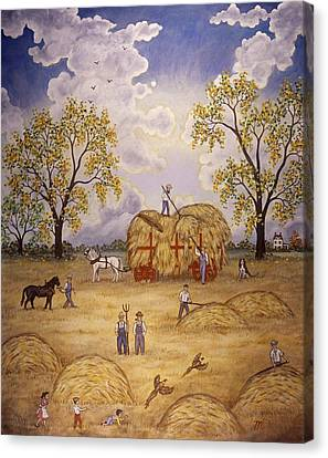 Harvest Canvas Print by Linda Mears
