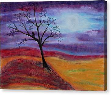 Harvest Moon 2 Canvas Print by Jeanne Fischer
