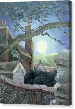 Harvest Moon Canvas Print by Cristiana Angelini