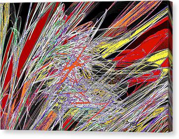 Harvest Of Colors Canvas Print
