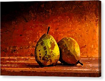 Harvest Pairs Canvas Print by Cole Black