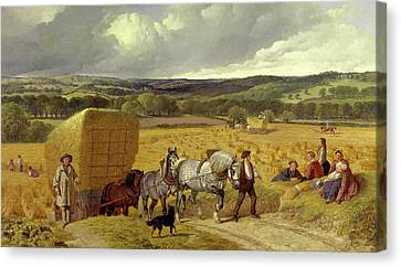 Harvest Signed And Dated Canvas Print