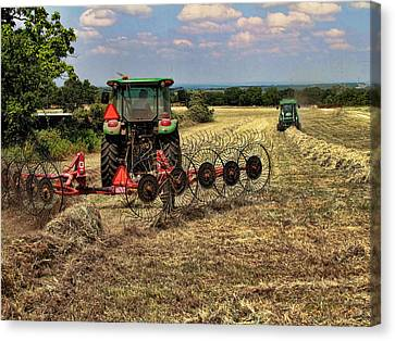 Harvest Time Again Canvas Print by Shannon Story