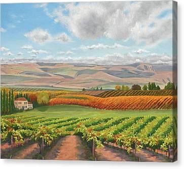 Harvest Time Canvas Print by Peterson, Julie