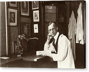 Harvey Cushing Canvas Print by American Philosophical Society