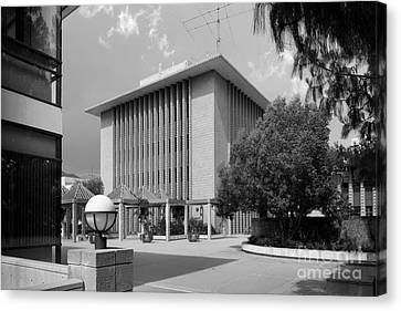 Harvey Mudd College Sprague Memorial Building Canvas Print by University Icons