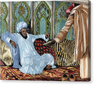 Hassan I (1836-1894 Canvas Print by Prisma Archivo