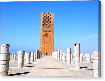 Hassan Tower Rabat Canvas Print