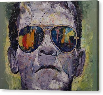 Frankenstein Canvas Print by Michael Creese