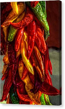 Hatch Chili Peppers Canvas Print