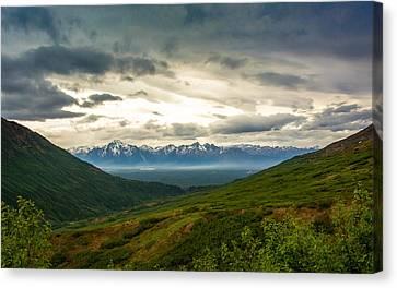 Hatcher Pass Alaska Canvas Print